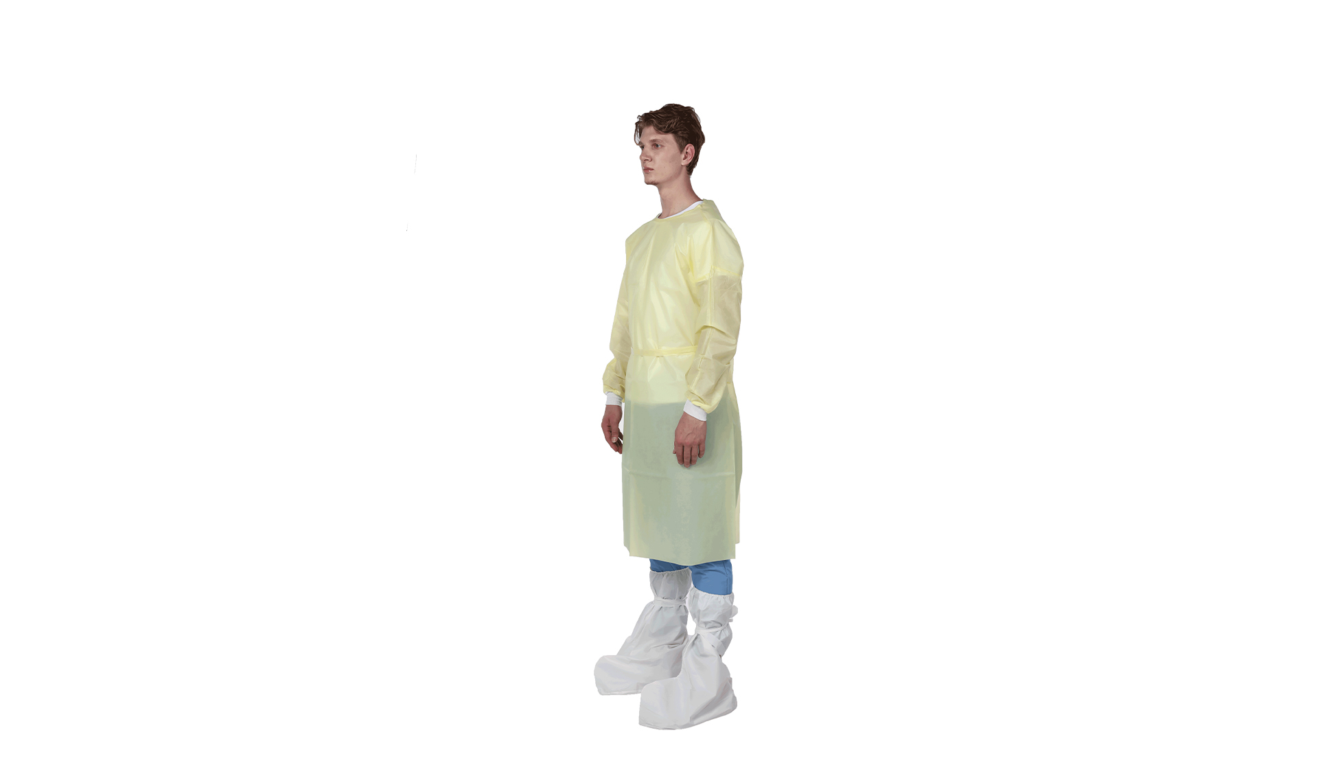 AAMI LEVE1 Isolation Gown